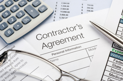 Contractor Agreement Document